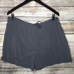 Brooks running shorts drawstring built in men's M